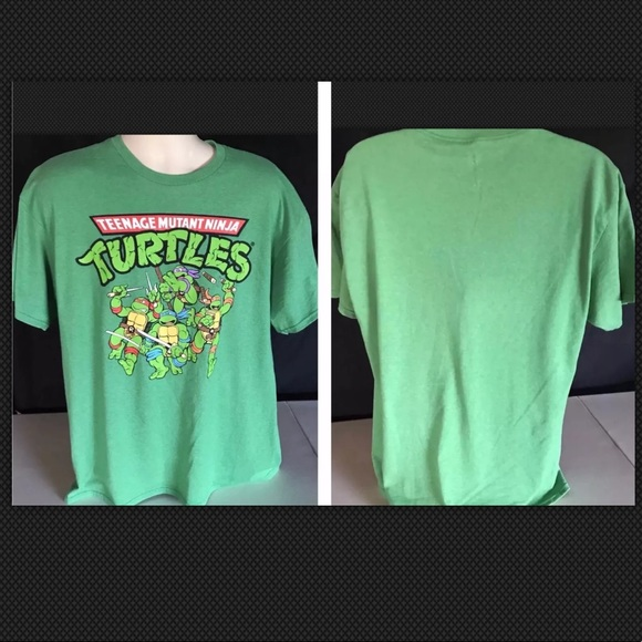 328ede8c Nickelodeon Shirts | Teenage Mutant Ninja Turtles Ss Tshirt Xl Green ...